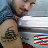 Dont Tread on Me tattoo