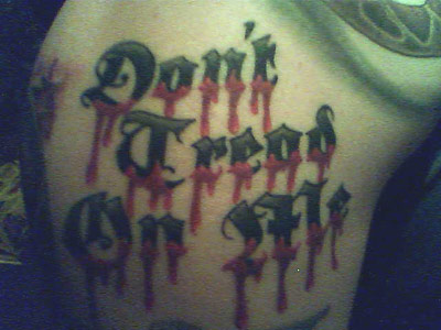 Adam's DTOM tattoos